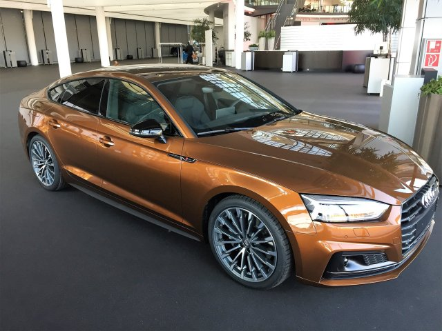 Green Car Reports >> Audi exclusive Ipanema Brown A5 Sportback - Audi Club ...