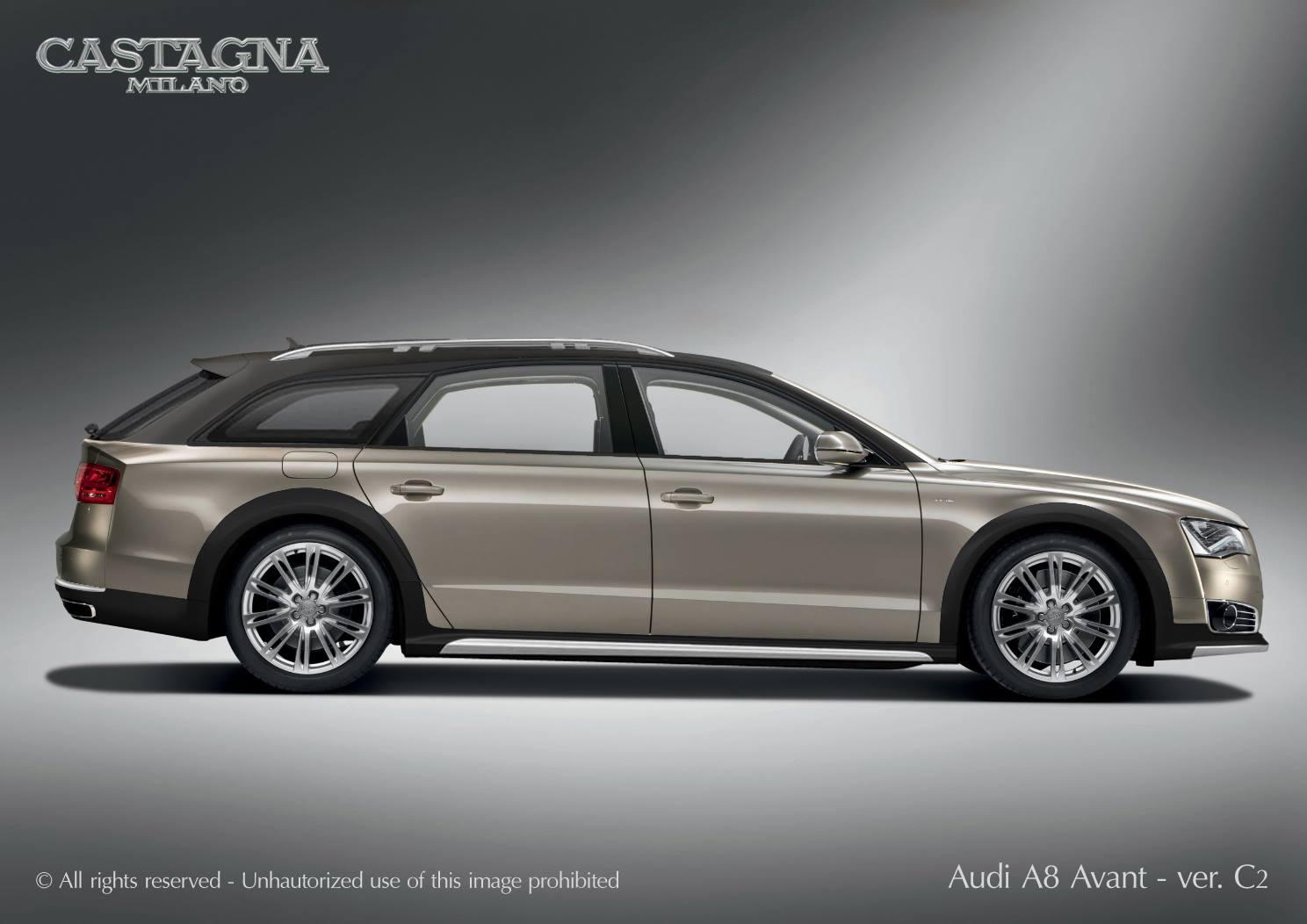 Italian Coachbuilder Shares A8 Avant Design