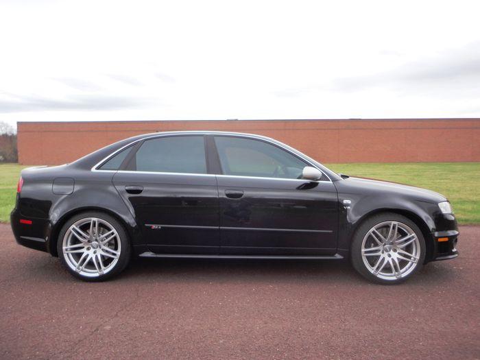 Find of the Day: 2008 Audi exclusive RS 4 Sedan in Phantom Black Pearl