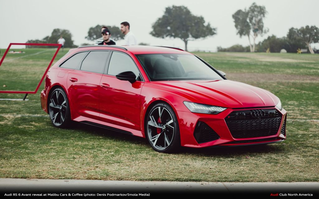 Photo Gallery: Audi RS 6 Avant Reveal At Malibu Cars & Coffee