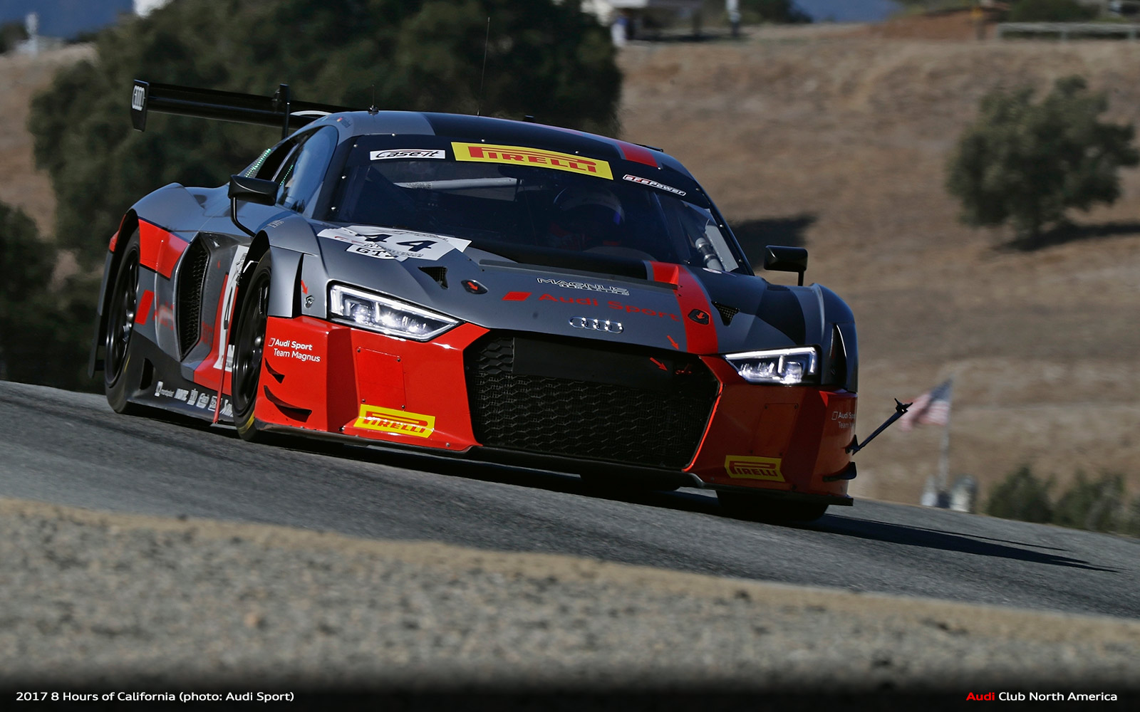 One-Two for Audi in California 8 Hours