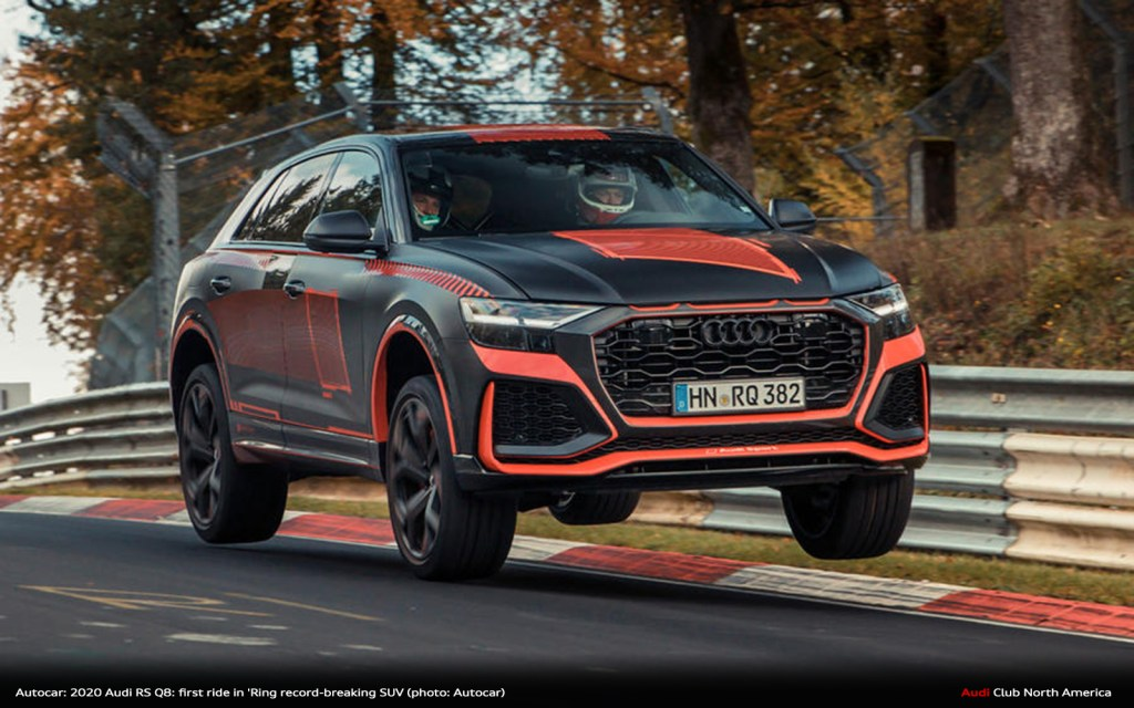 Autocar: 2020 Audi RS Q8: first ride in 'Ring record-breaking SUV