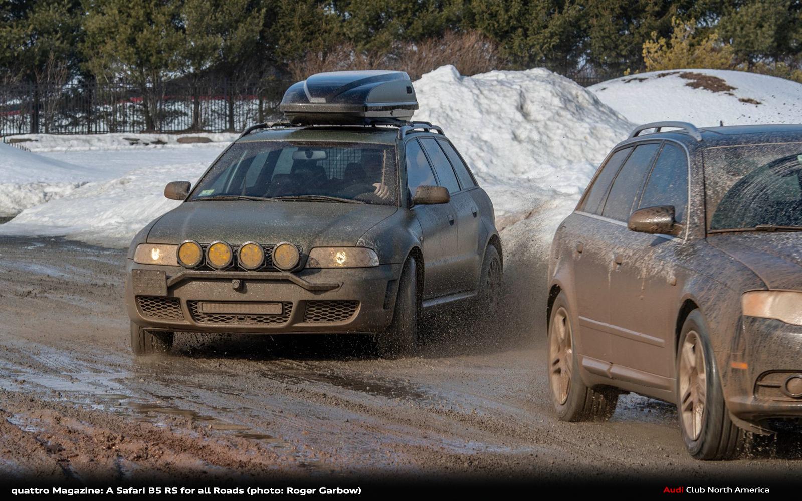 quattro Magazine: A Safari B5 RS for all Roads.