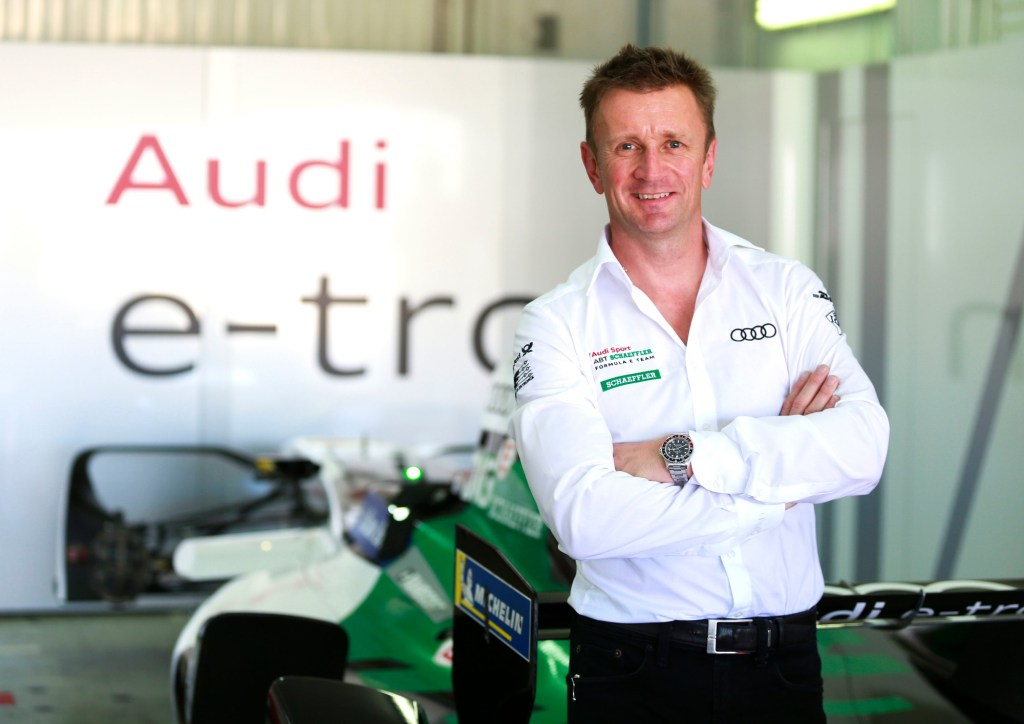 "Allan McNish: ""It's a luxury to have two fast and aggressive drivers in the team"""