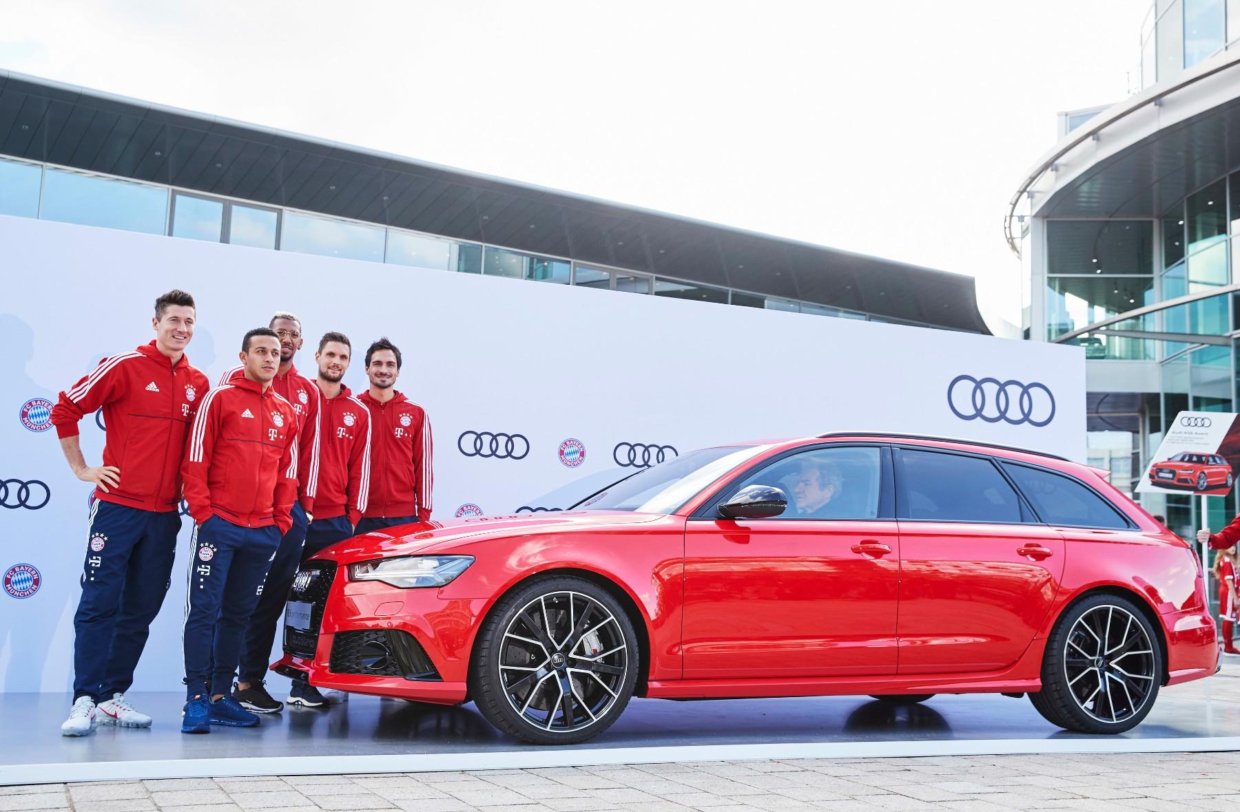 Audi Presents FC Bayern München On A Pre-Season Tour
