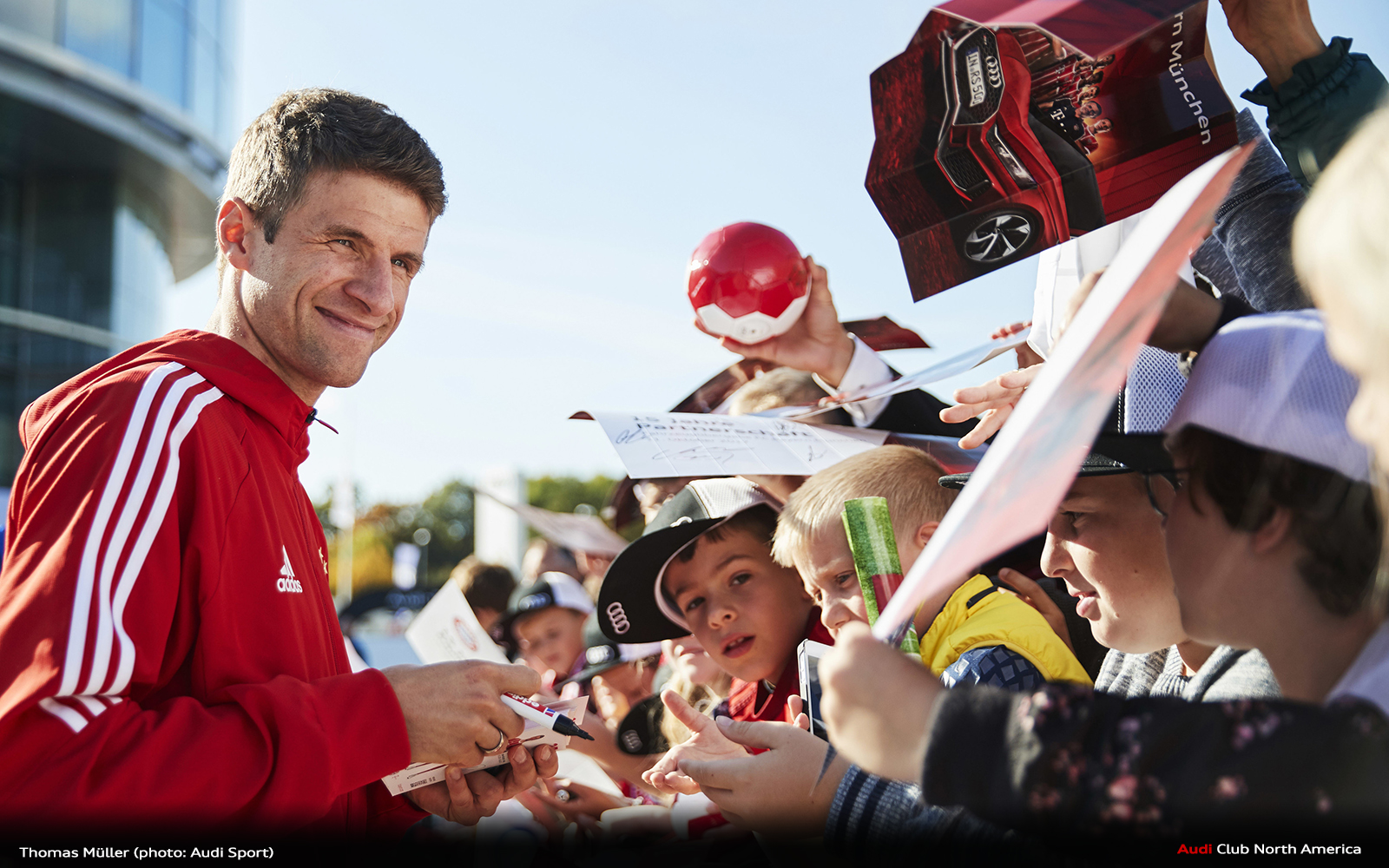 "Müller: ""The Audi Cup will be really exciting"""