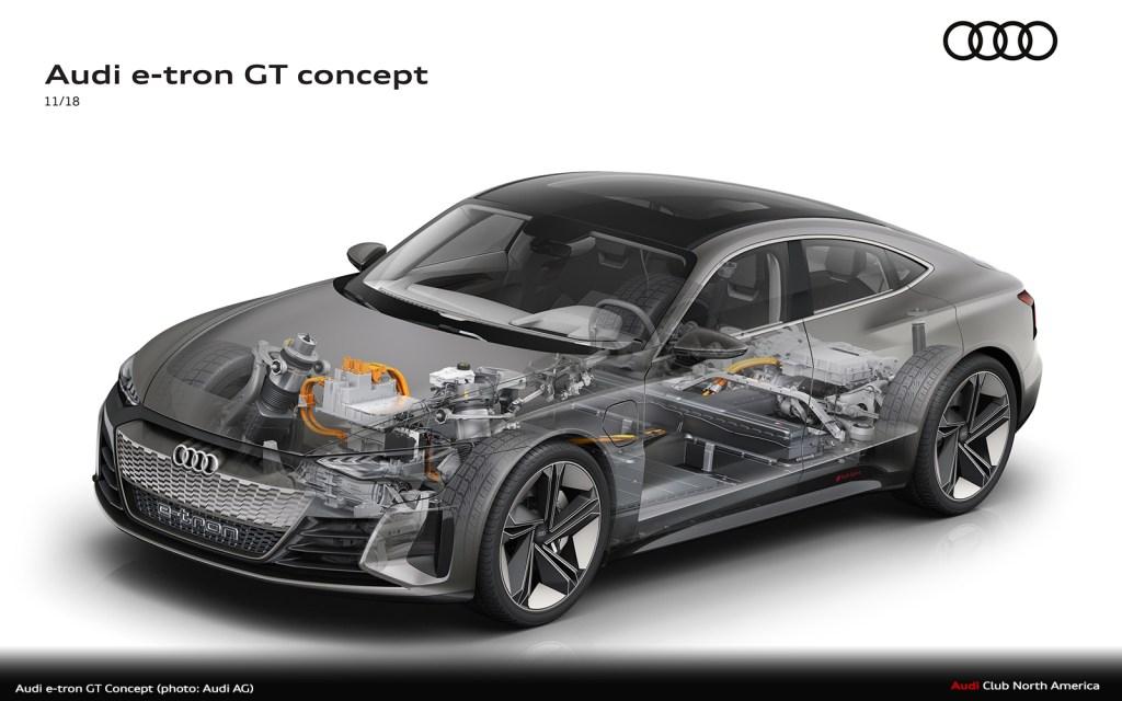 Modification Work: Preparations Underway at Audi Böllinger Höfe for the Audi e-tron GT