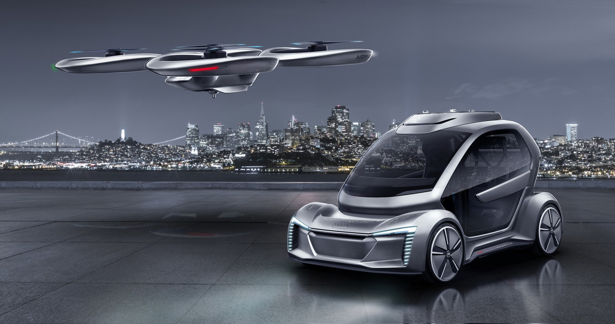 Audi Supports Air-Taxi Project in Ingolstadt