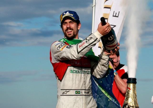 Champion Lucas di Grassi Back on the Podium