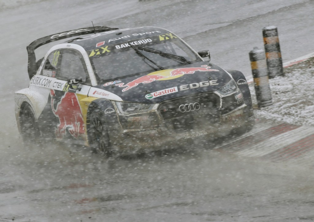 Rallycross: Roller Coaster Ride for EKS Audi Sport