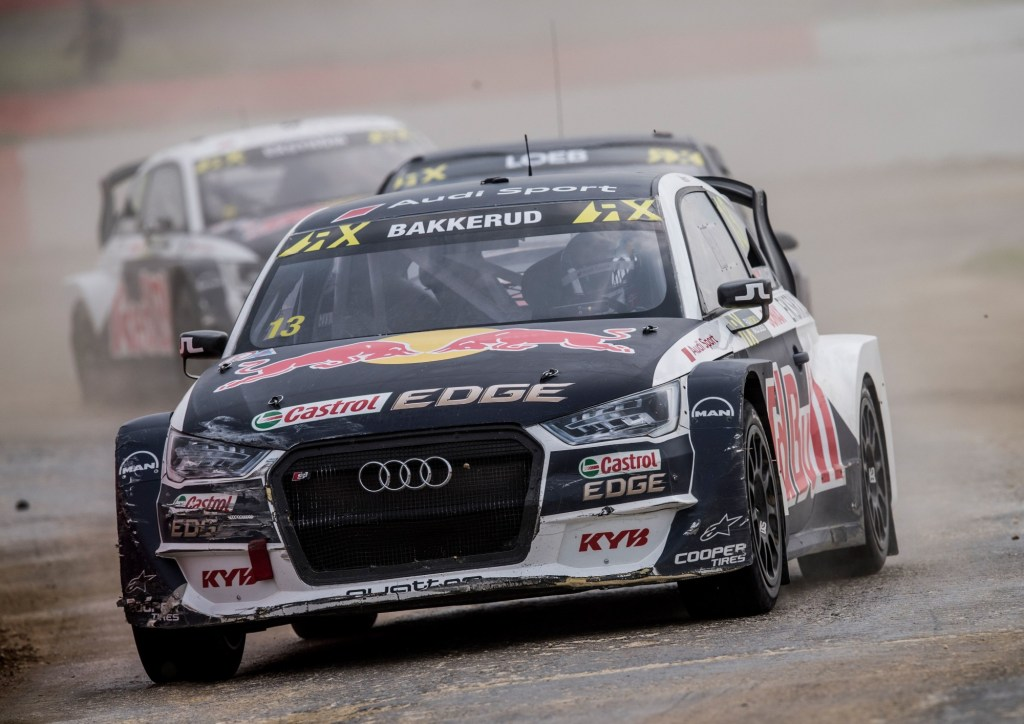 Huge Celebrations in Silverstone: First Podium for Audi Driver Andreas Bakkerud