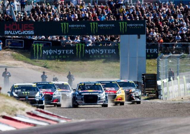 Celebration at Höljes: Audi Driver Bakkerud Reclaims World RX Position Two