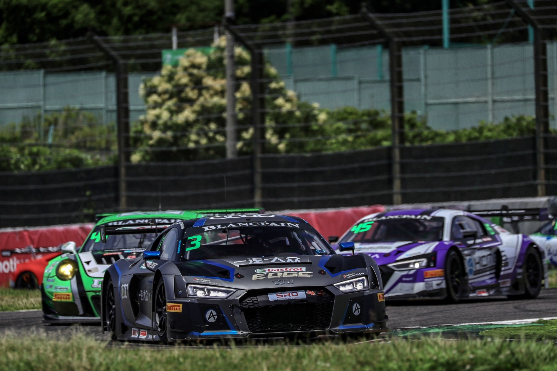 First Victory This Season for Audi in Blancpain GT Series Asia