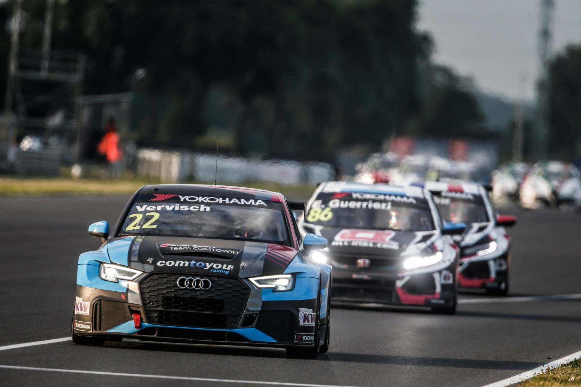 Two Podium Finishes for Audi Sport at the Slovakiaring