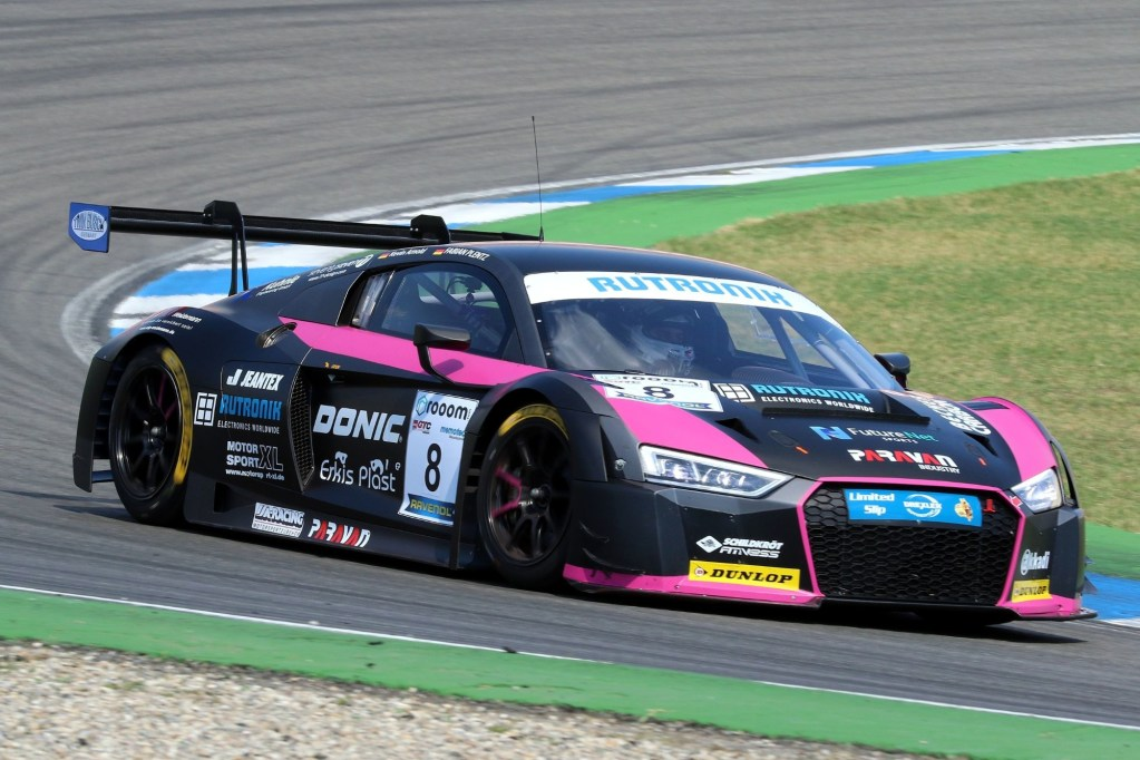 One-two-three for Audi R8 LMS at Hockenheim