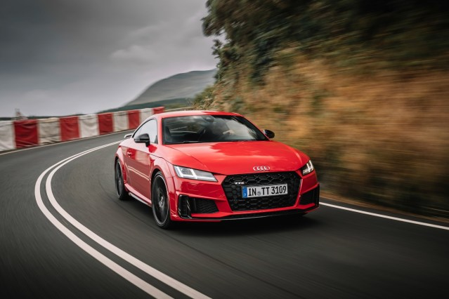 Compact Premium Sports Car in Top Form:  New Audi TTS Available for Order