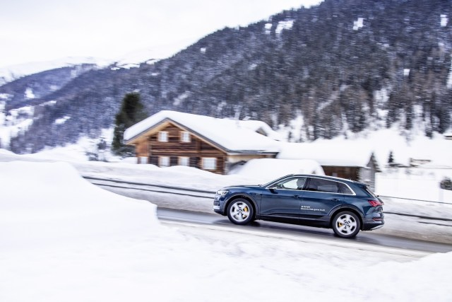 Audi Electrifies The World Economic Forum In Davos Audi Club North