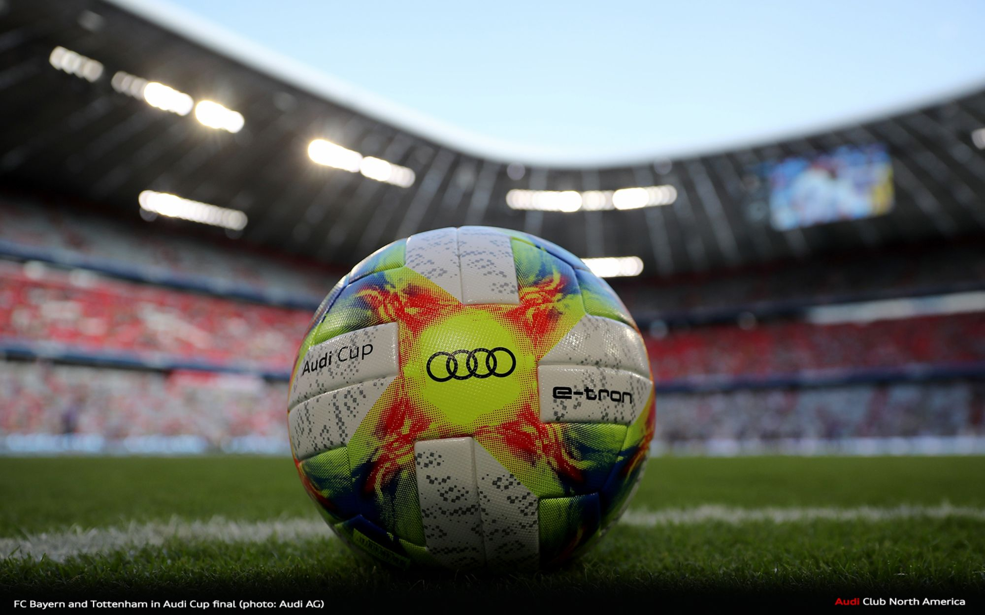 FC Bayern and Tottenham in Audi Cup Final