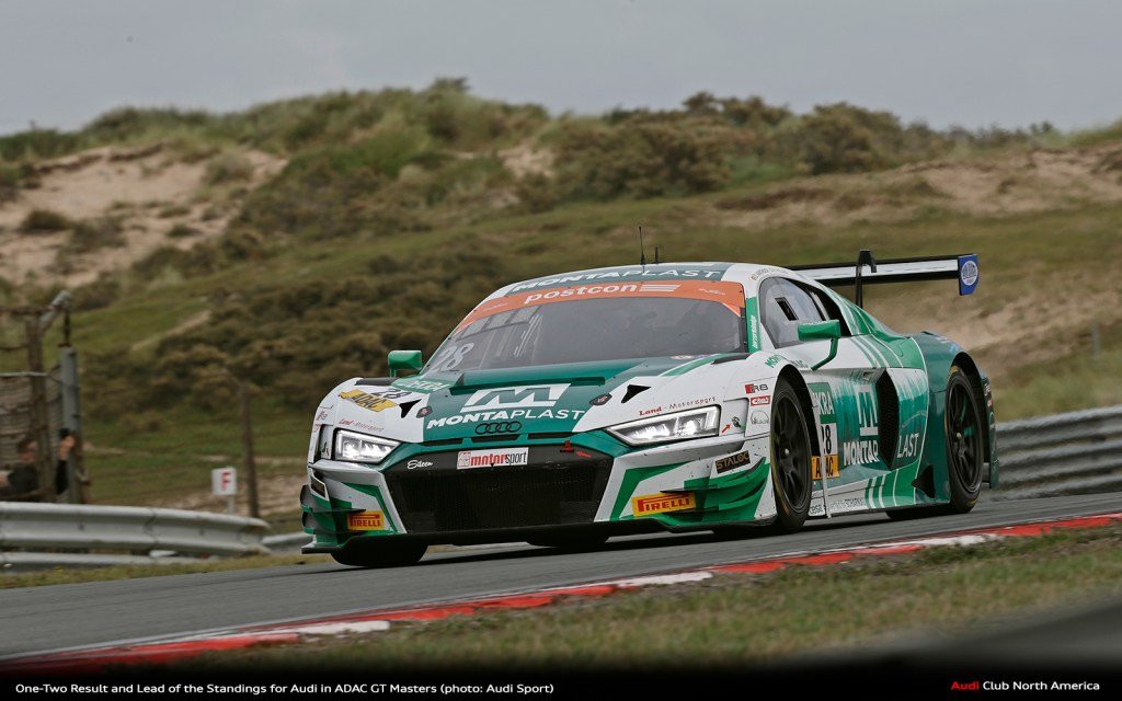 One-Two Result and Lead of the Standings for Audi in ADAC GT Masters