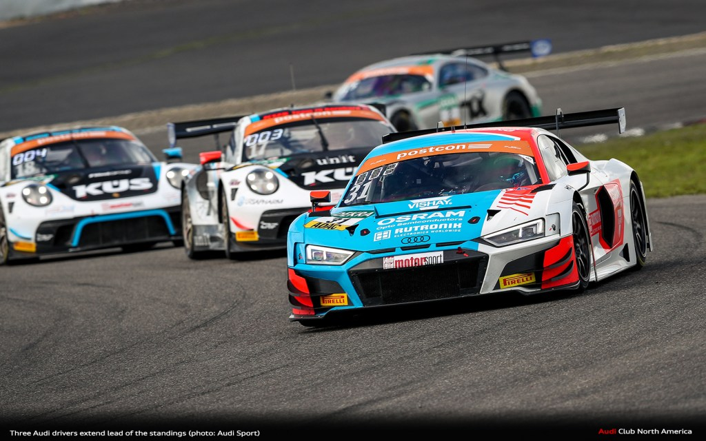 Three Audi Drivers Extend Lead of the Standings