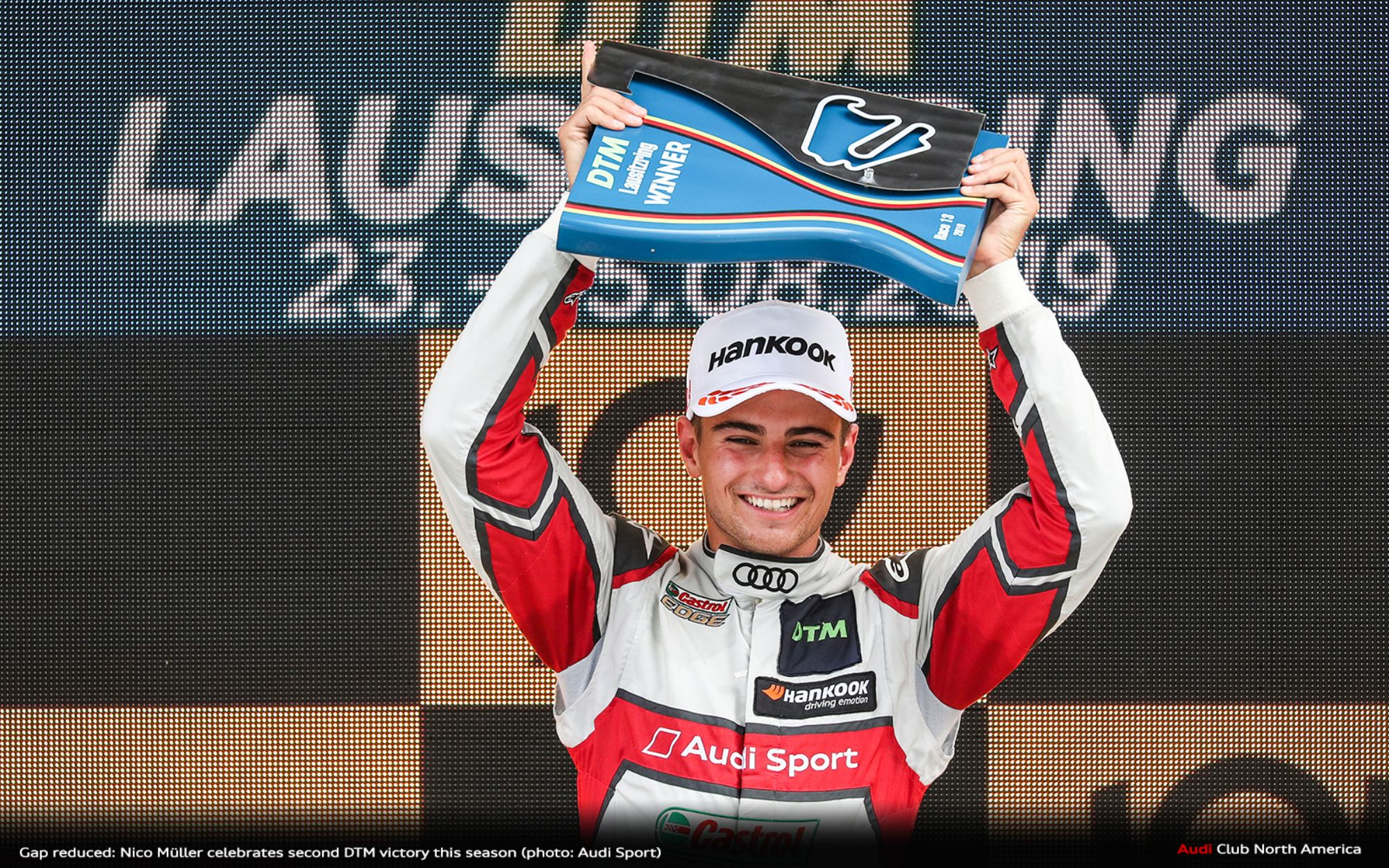 Gap Reduced: Nico Müller Celebrates Second DTM Victory This Season