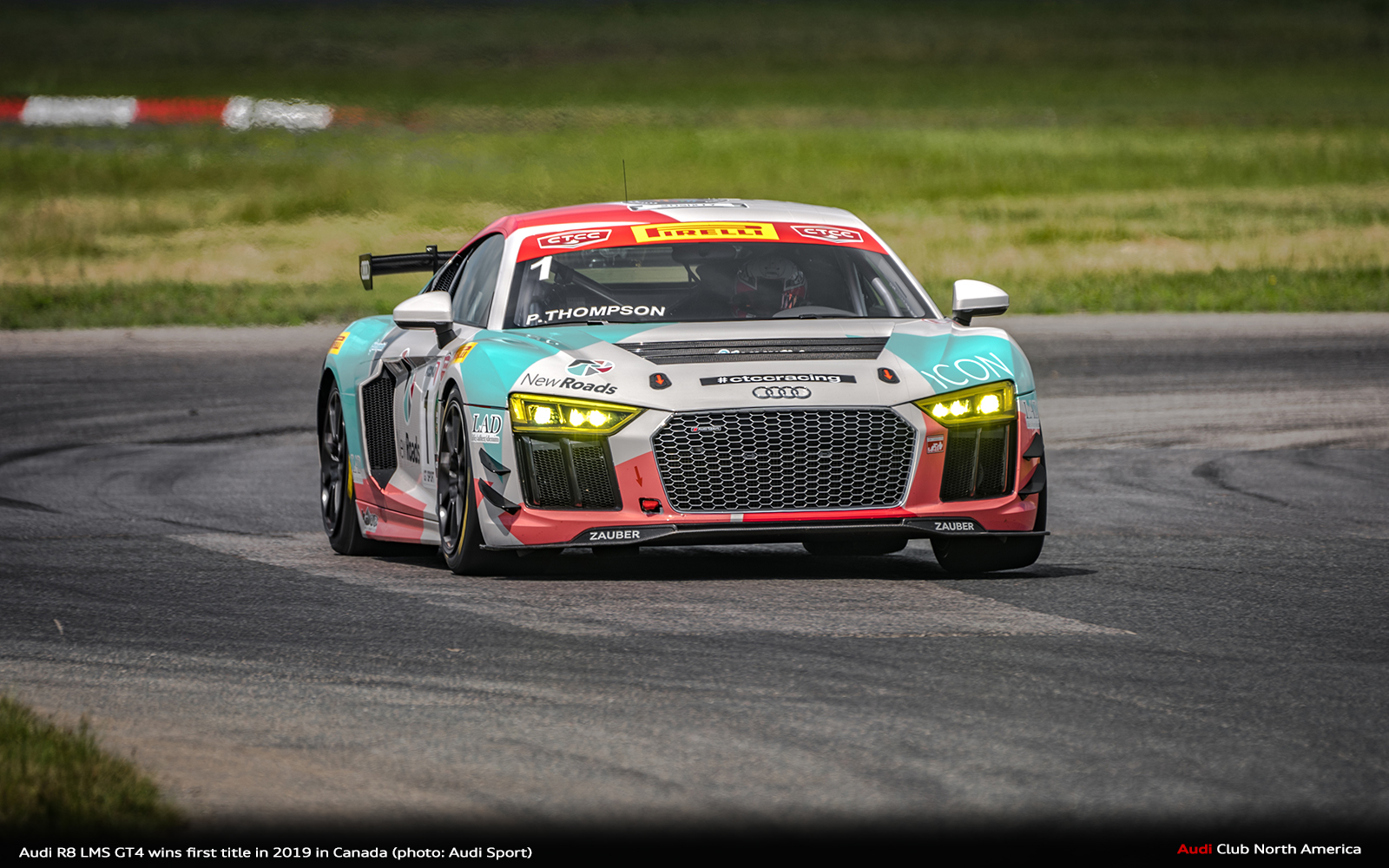 Audi R8 LMS GT4 Wins First Title in 2019 in Canada