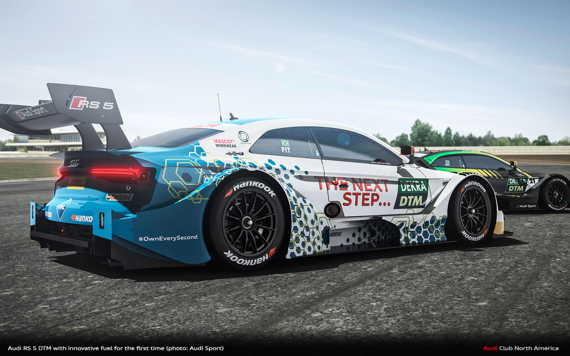 Premiere At DTM Finale: Audi RS 5 DTM With Innovative Fuel For The First Time