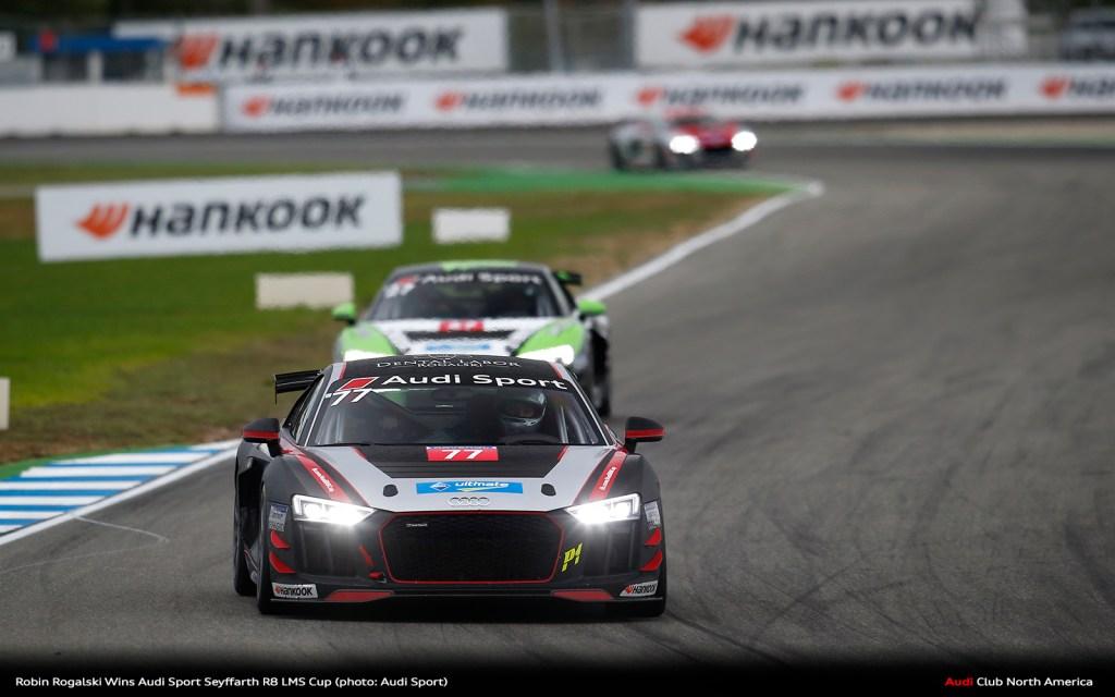 Robin Rogalski Wins Audi Sport Seyffarth R8 LMS Cup