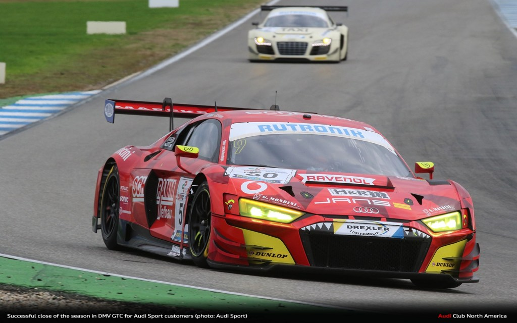 Successful Close of the Season in DMV GTC for Audi Sport Customers