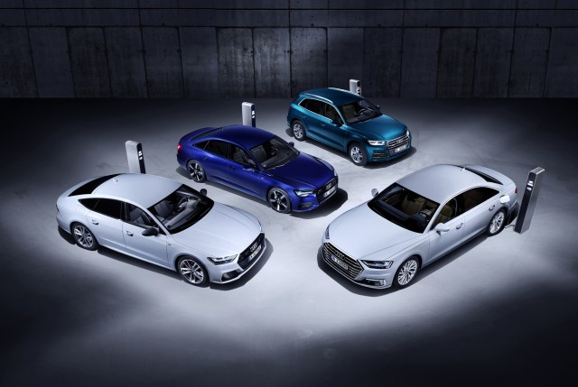 Efficient and Powerful: The New Plug-In Hybrid Models Audi Q5, A6, A7 and A8