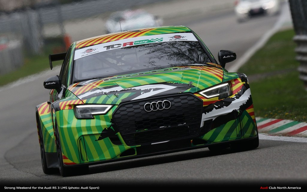 Strong Weekend for the Audi RS 3 LMS with Three Victories