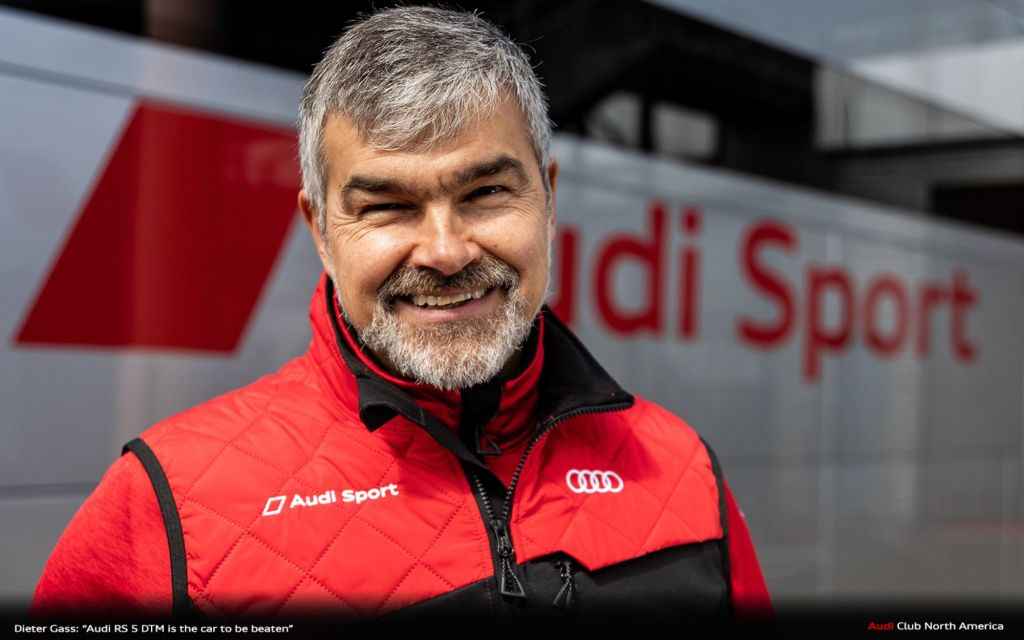 "Dieter Gass: ""Audi RS 5 DTM is the car to be beaten"""