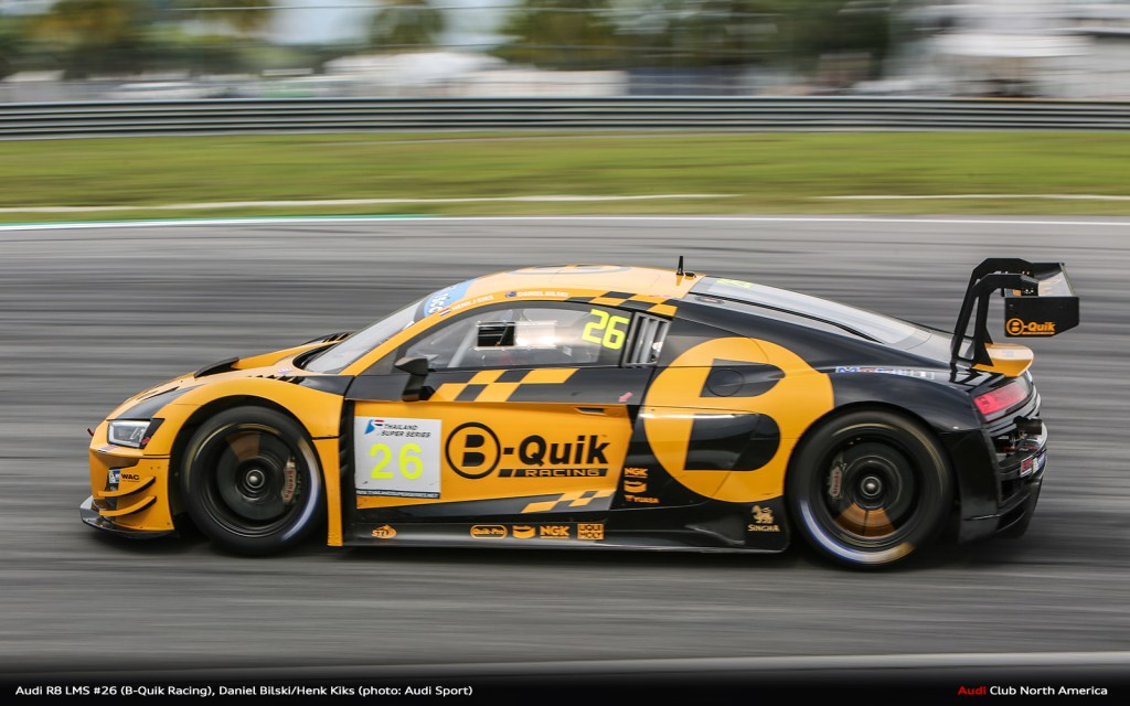 Three Victories of the Audi R8 LMS in Thailand and Australia