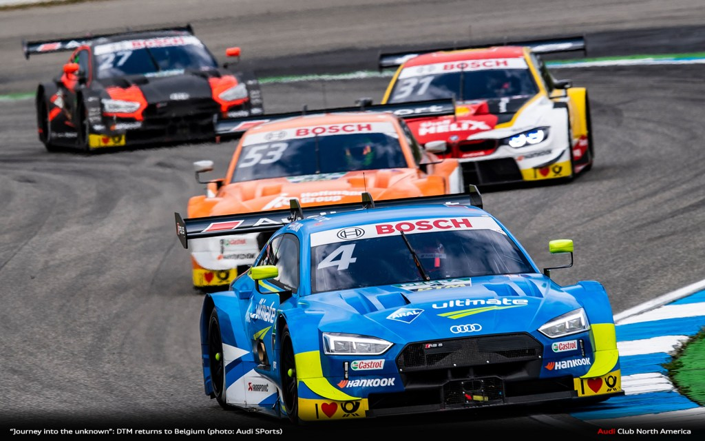 """Journey Into The Unknown"": DTM Returns to Belgium"