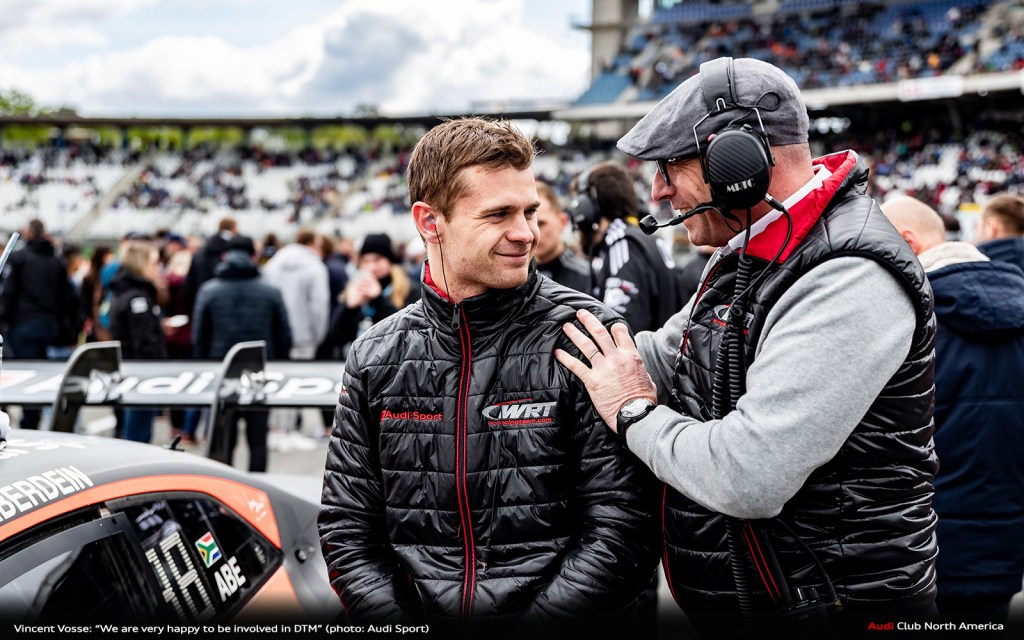 """Vincent Vosse: """"We are very happy to be involved in DTM"""""""