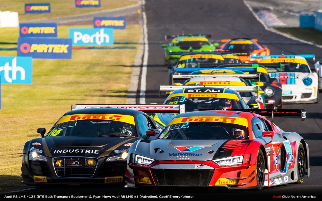 Audi R8 LMS Victorious in Australia and Sweden