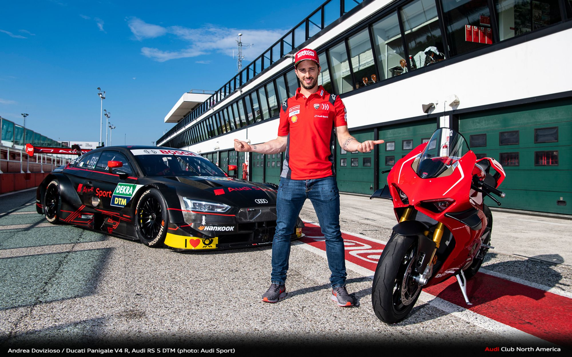 MotoGP Star Andrea Dovizioso Heads To DTM Debut - Audi Club North America
