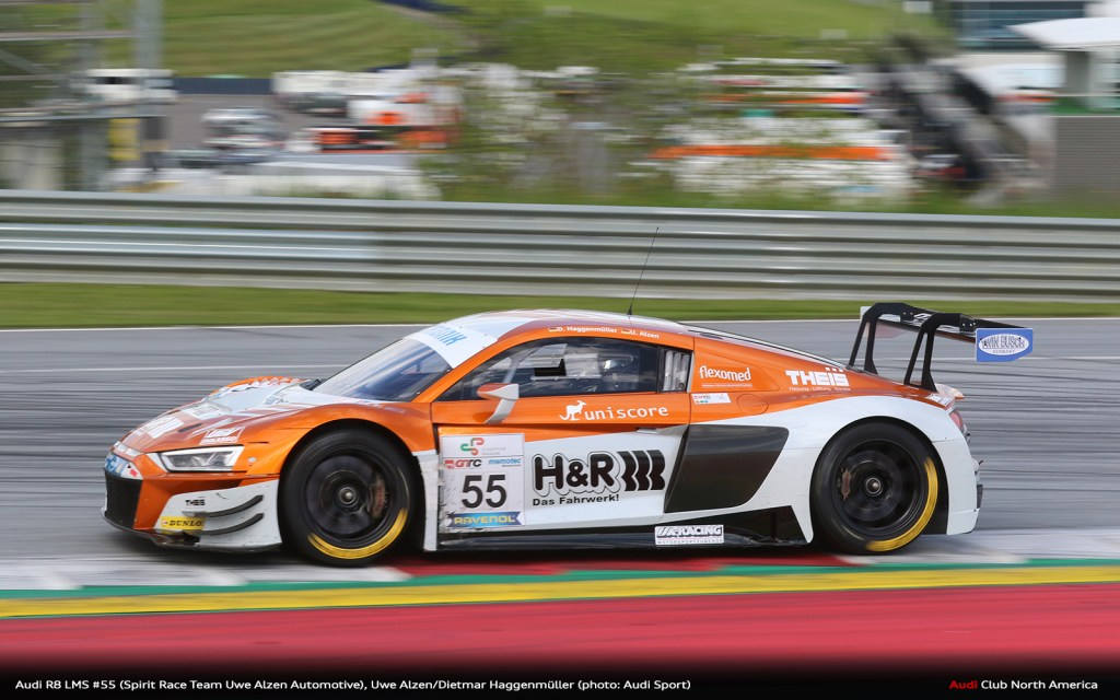 Fifth Victory for Audi R8 LMS in DMV GTC