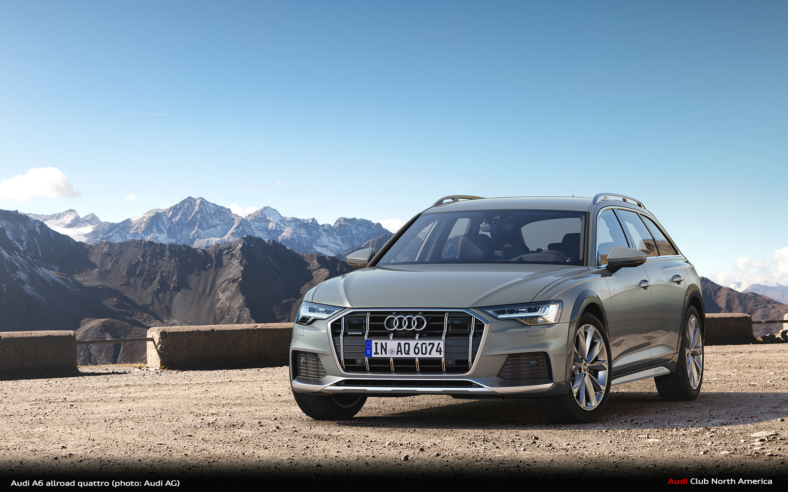 20 years of a6 avant with offroad qualities the new audi. Black Bedroom Furniture Sets. Home Design Ideas