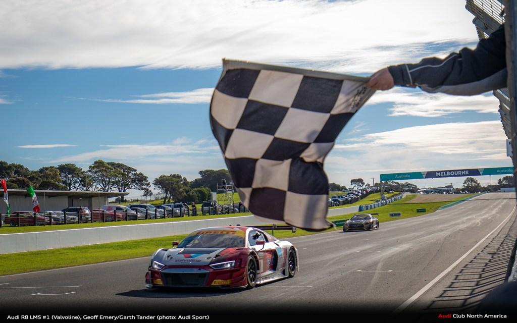 Audi Sport customer teams in top spots of standings in four series