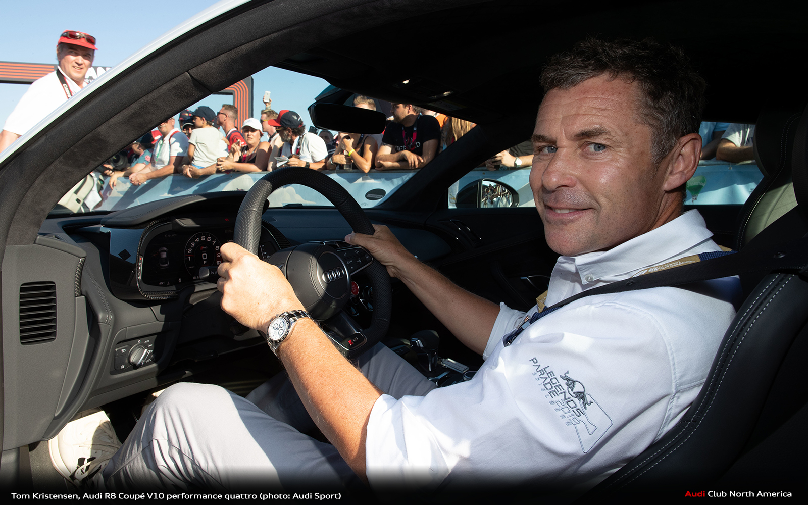 Tom Kristensen, Audi Club Nationals, A Track Day...Oh My
