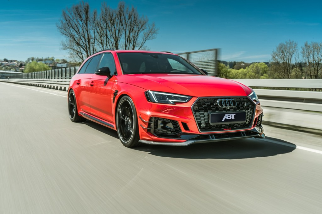 Up and Away: All 50 ABT RS4-R with 530 HP Already Sold Out