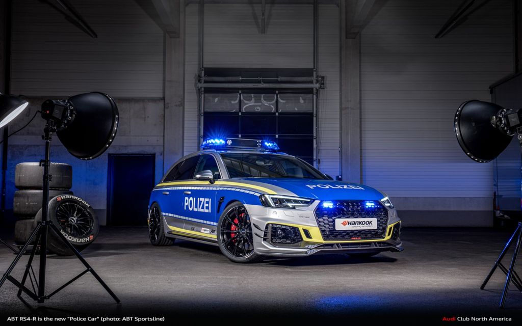 """ABT RS4-R Is The New """"Police Car"""" For TUNE IT! SAFE!"""