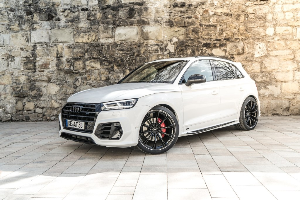 2018 Audi SQ5 With 425 HP And Visible Tailpipes Thanks To ABT