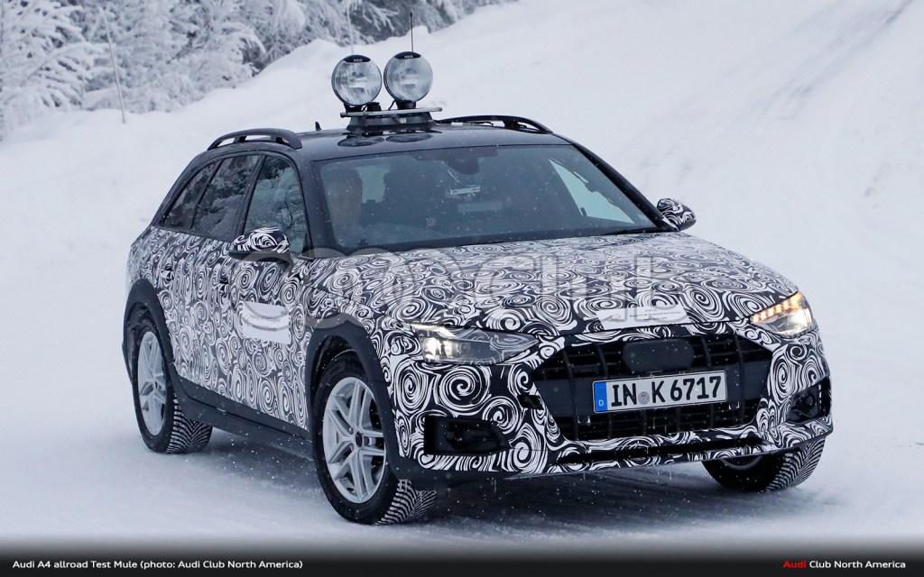 B9.5 Audi A4 allroad Spied
