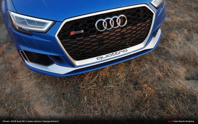 Driven: 2018 Audi RS 3 sedan