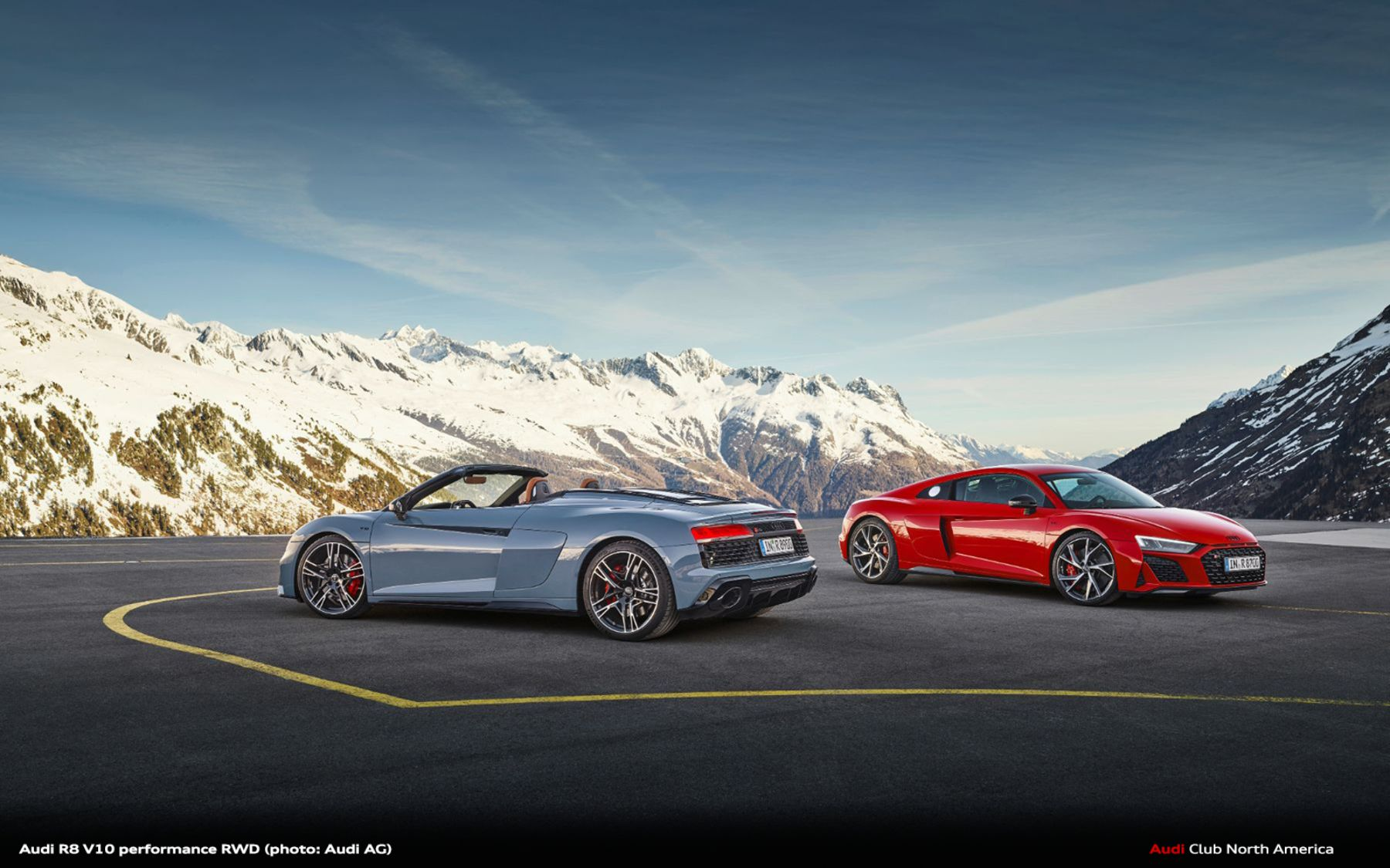 The Sheer Joy of Driving Meets Enhanced Performance: the Audi R8 V10 performance RWD