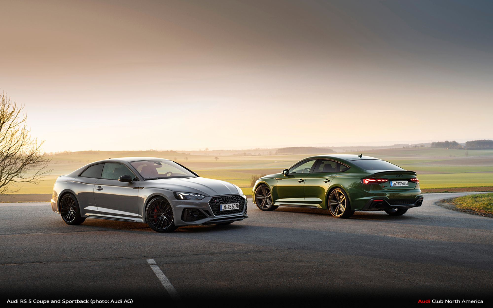 The Sporty Spearhead of the Product Line with a New Look: the RS 5 Coupé and RS 5 Sportback