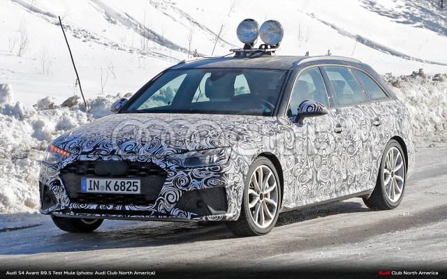 Spied: B9.5 Audi S4 Avant