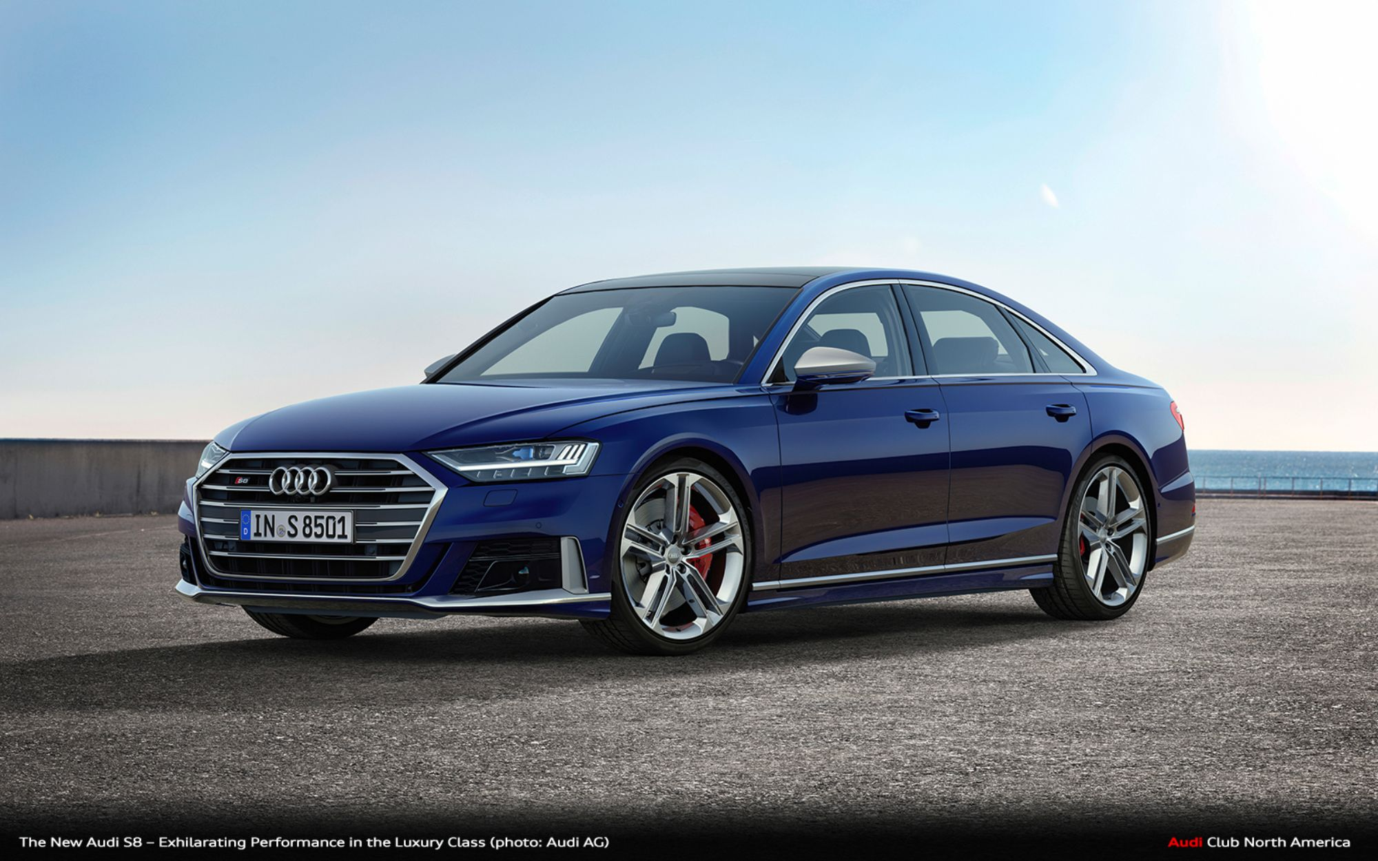 High Performance Audi S8 To Debut At Los Angeles Auto Show 2020